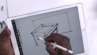 iPad Pro App: Concepts, a quick take