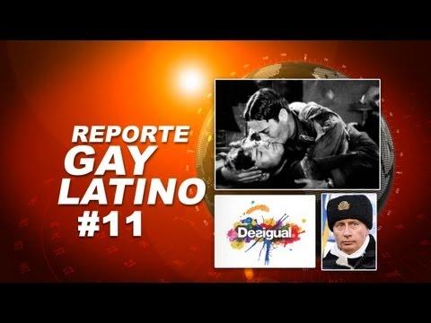 Vladimir Putin homofobico/ Beso lésbico/ Alas (Wings) 1927 (Reporte Gay Latino #11)