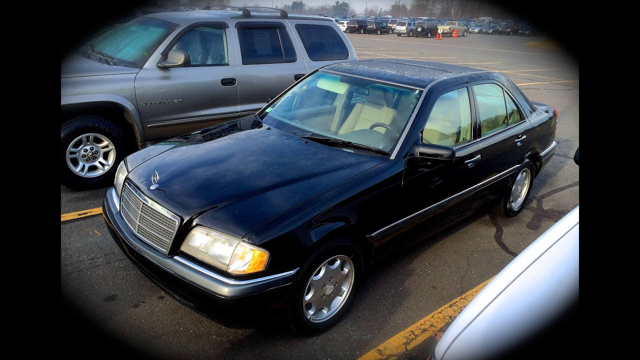 1994 mercedes benz c220 w202 start up quick tour rev