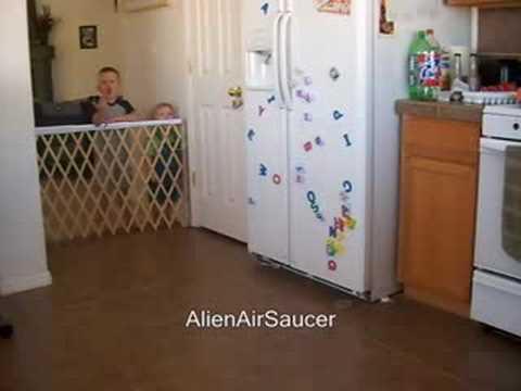 Alien Air Saucer 3 gyro 4ch rc quad copter xufo ufo jj jumpjet
