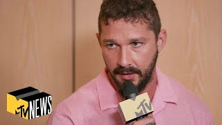 Shia LaBeouf, Lucas Hedges & 'Honey Boy' Cast on The Film's Challenges | MTV News