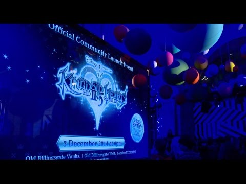 UK Community Launch Event Recap - KINGDOM HEARTS HD 2.5 ReMIX
