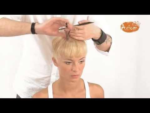 Мастер класс стрижка женская на короткие волосы