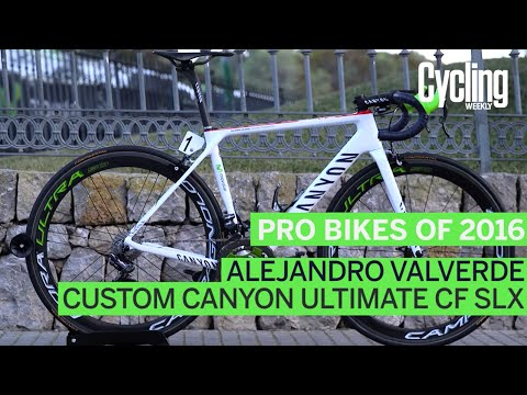 Pro bikes of 2016: Alejandro Valverde's Canyon Ultimate CF SLX