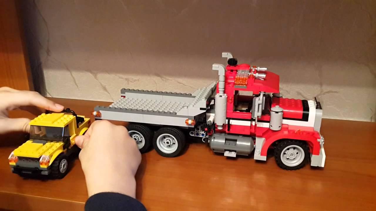 Рассказываем о Lego Creator. Часть 1 - Фура - YouTube