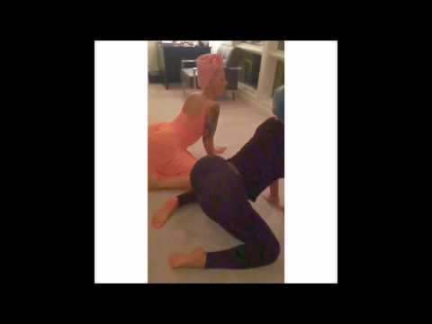 Amber Rose And Blac Chyna Have Twerking Contest video