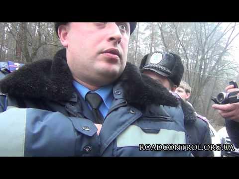 ДК отбивает у ГАИ автобусы с митингующими Евромайдана