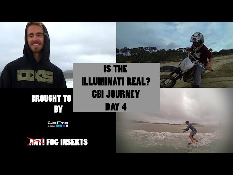 Is The Illuminati real? Great Barrier Island Journey Day 4