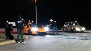 Vw Dung Beetle vs McLaren 12c