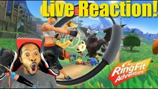 Nintendo Announces Ring Fit Adventure For Nintendo Switch | Live Reaction