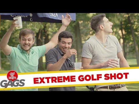 Ultimate Golf Prank - Extrém Golf