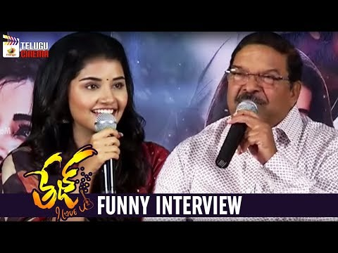 Tej I Love You Movie FUNNY Interview | Sai Dharam Tej | Anupama Parameswaran | Mango Telugu Cinema