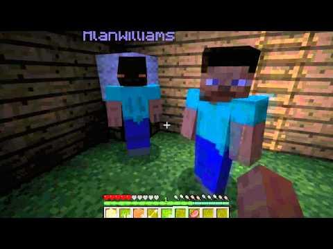 Minecraft приключения вместе с ProART, AlanWilliams и MozillaFox. Часть 1