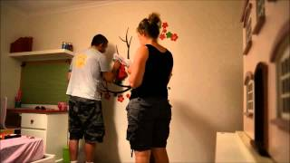 Birthday room renovation surprise