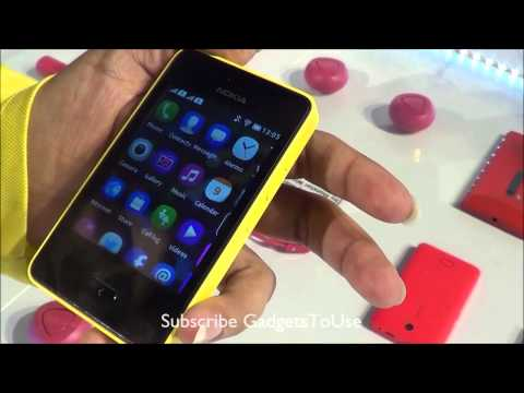 Nokia Asha 501 Hands on Features Xpress Now. Fast Lane. Swipe UI Demo