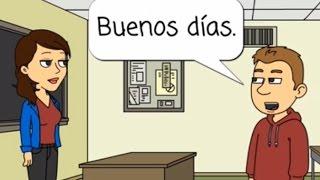Spanish Lesson 1: Greetings (original)