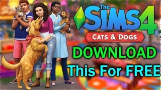 Free Demo | How To Get The Sims 4 Cats & Dogs For Free 2018 with ALL DLC Sims 4 Seasons.