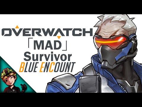 【MAD】Overwatch Anime Opening -「Survivor」 BLUE ENCOUNT