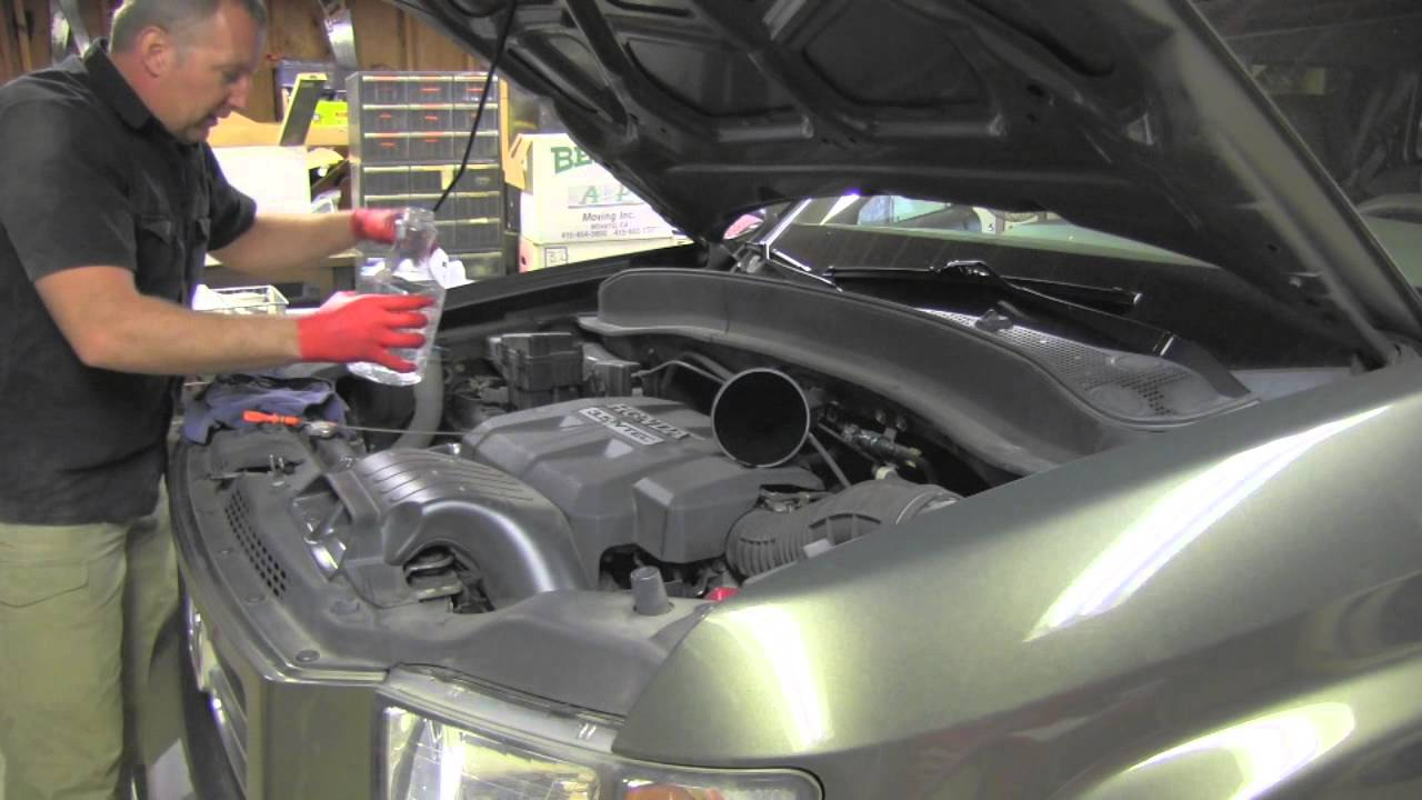 Honda Ridgeline Oil Change Youtube