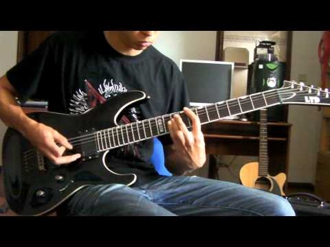 Megadeth - Holy Wars ... The Punishment Due Guitar Cover [HD] full cover w/ solo