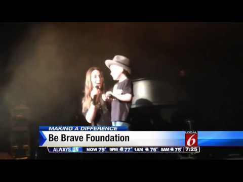 'Be Brave' helps families fight cancer