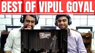 Pakistani Reaction To | Papa Ke Struggles & Wine Drinkers | Stand Up Comedy by Vipul Goyal |REACTION