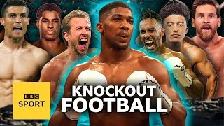 'That's my body!' Anthony Joshua settles football biggest beefs | MOTDx
