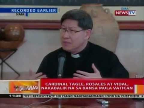 BT: Cardinal Tagle, ikinuwento ang karanasan noong katarabaho si Pope Francis