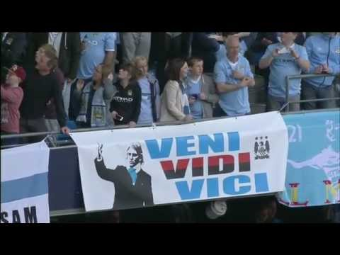 Manchester City Champions 2011-2012: Post Match