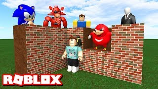 BUILD TO SURVIVE MONSTERS! | Roblox Adventures