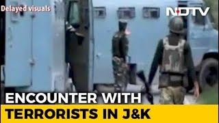 Gunfight Breaks Out Between Security Forces And Terrorists In Shopian