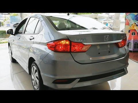 Honda City 2017 รุ่น S CVT (สี Lunar Silver Metallic)