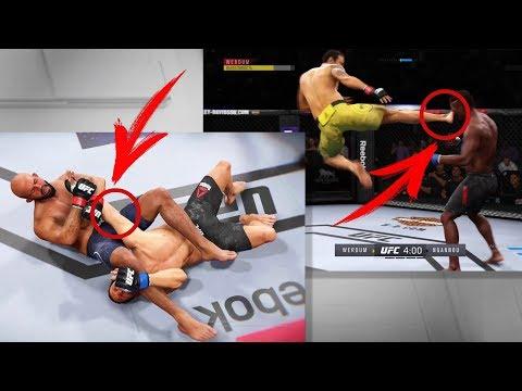 УЧИМСЯ НОВЫМ МУВАМ В UFC 3(NEW MOVE)