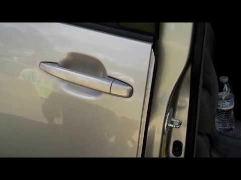 2006 Toyota Sienna Rear Passenger Power Sliding Door Not Working Intermittently , Video 1