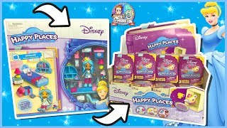 DISNEY HAPPY PLACES PLAYSET CHAMBRE CENDRILLON & BOOSTERS SHOPKINS