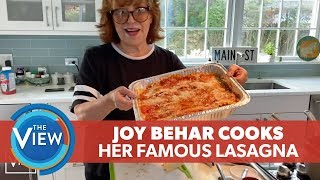 Joy Behar Cooks Her Famous Lasagna  | The View