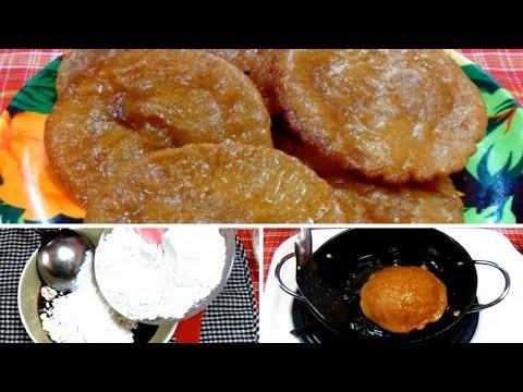 Cara Membuat dan Resep Kue Cucur Gula Merah Enak