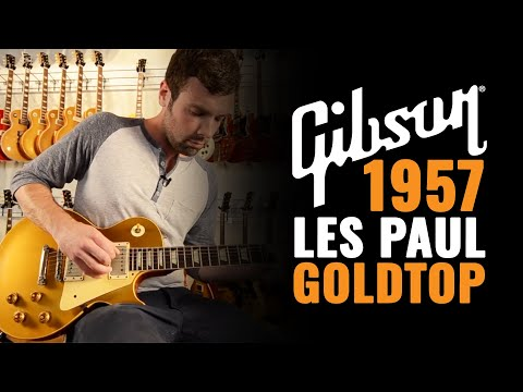 1957 Gibson Les Paul Gold Top