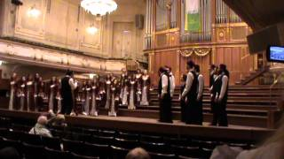 Boğaziçi Jazz Choir - Entarisi Ala Benziyor (Muammer Sun), 2nd Grand Prix of Choral Music