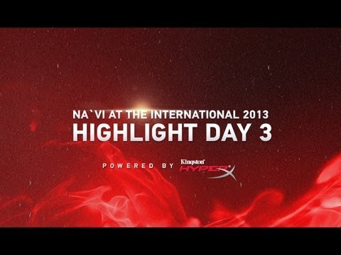 Na`Vi at the International - Highlight day #3