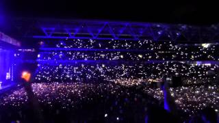 Eminem Video - Eminem Fast Lane & Lighters Live at the Suncorp Stadium Brisbane 2014