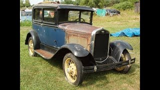 1931 Ford Model A restoration. January 2006-August 2007 Part 1.