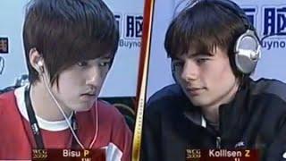 김택용 vs 에머리치 상대가 불쌍할 정도의 질럿관광 ( Bisu vs Kolllsen )