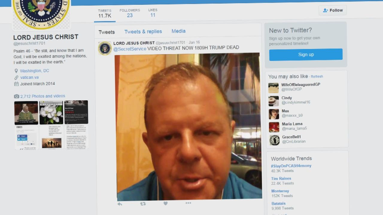 Man Threatened to Kill Donald Trump In Twitter Video: Cops