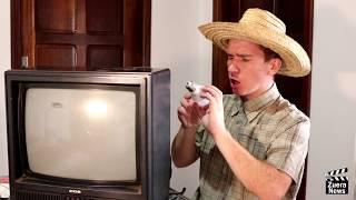 Zuera News - Arrumando a TV.