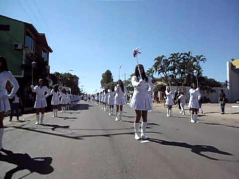 Desfile - BICENTENARIO de PARAGUAY - Chiroleras del Colegio Nacional de E.M.D. Dr. Pedro P. Peña