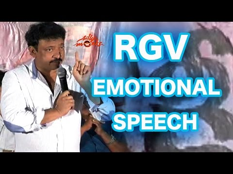 RGV Emotional Speech - Ram Gopal Varma Apologizing Media - Ice Cream Controversy