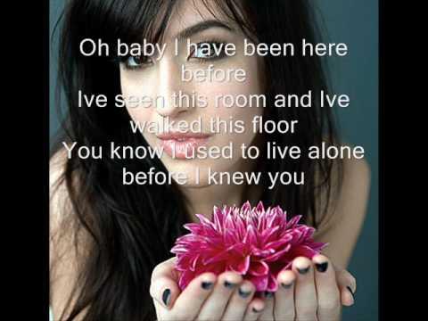 Kate Voegele-Hallelujah(lyrics)