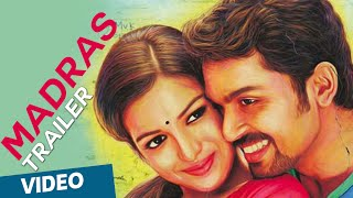 Madrasi - Madras Official Theatrical Trailer | Featuring Karthi, Catherine Tresa