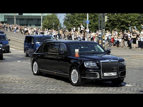 Putin's Limo: First public appearance of Aurus outside Russia
